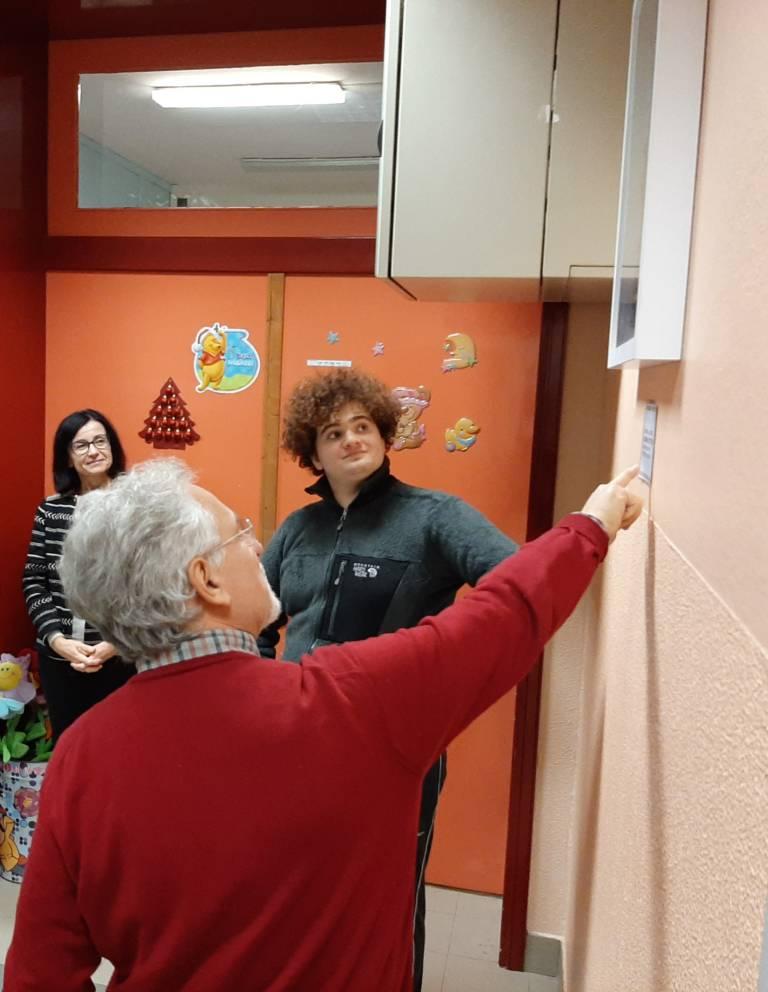 17 dicembre 2019. donazione di Leonardo alla neuropsichiatria infantile di Imola