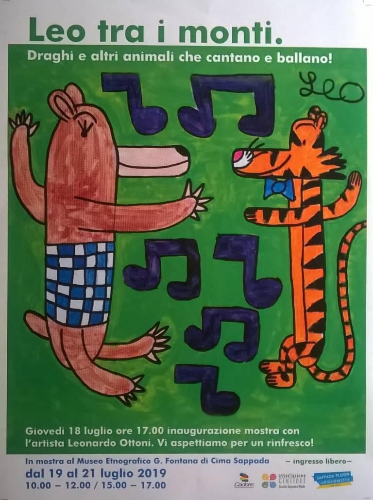 Leo tra i monti ; draghi e altri animali che cantano e ballano
